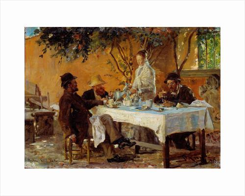 Breakfast in Sora by Peder Severin Krøyer