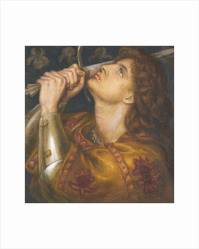 Joan of Arc, 1864 by Dante Gabriel Rossetti