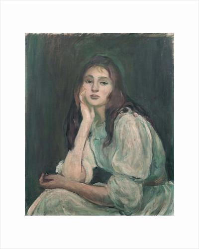 Julie Daydreaming (Julie rêveuse), 1894 by Berthe Morisot