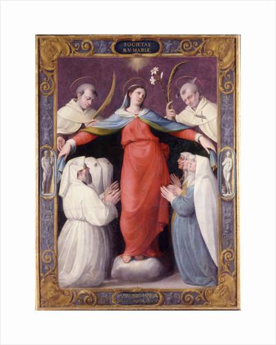 Madonna della Misericordia (Madonna of Mercy), 1564 by Jacopo Zanguidi
