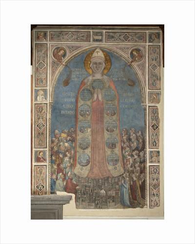 Madonna della Misericordia (Madonna of Mercy), 1342 by Bernardo Daddi