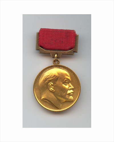 The Lenin Prize Medal by Anonymous