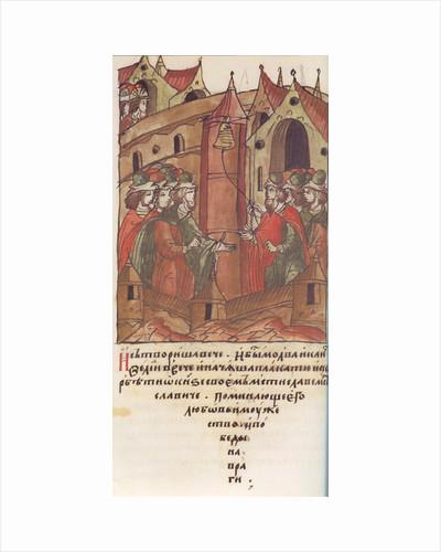 Novgorod veche. The Lamentation over Prince Mstislav Mstislavich. by Anonymous