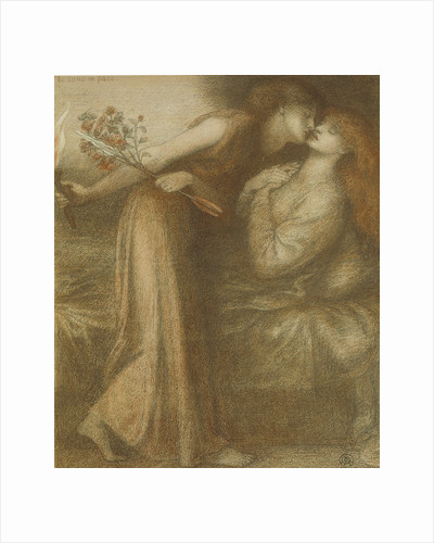Dantes Dream on the Day of the Death of Beatrice (Io sono in pace), 1875 by Dante Gabriel Rossetti