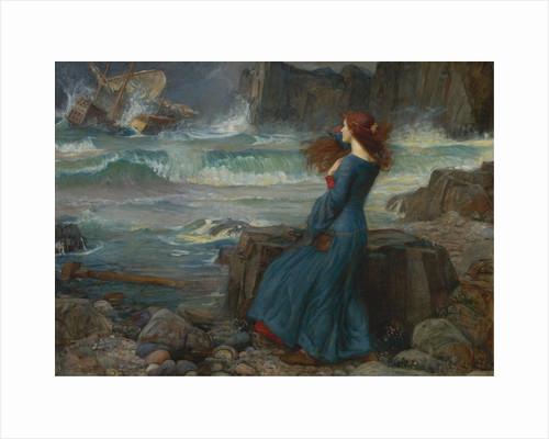 Miranda. The Tempest, 1916 by John William Waterhouse