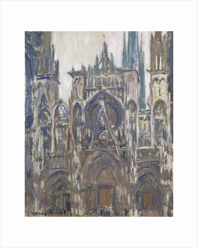 The Rouen Cathedral, 1892 by Claude Monet