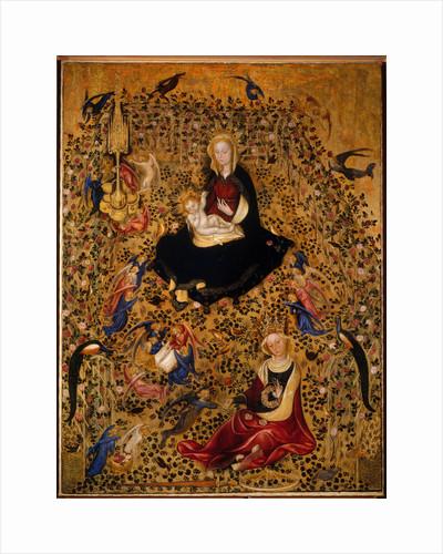 The Madonna of the Rose Garden (Madonna del Roseto), c.1425 by Michelino da Besozzo