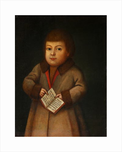 Boy with an Alphabet book, First quarter of 19th century by Anonymous