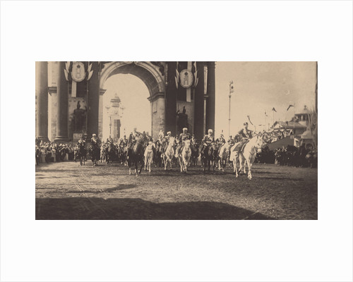 The Ceremonial Entry of Nicholas II in Moscow on May 9, 1896, 1896 by Anonymous
