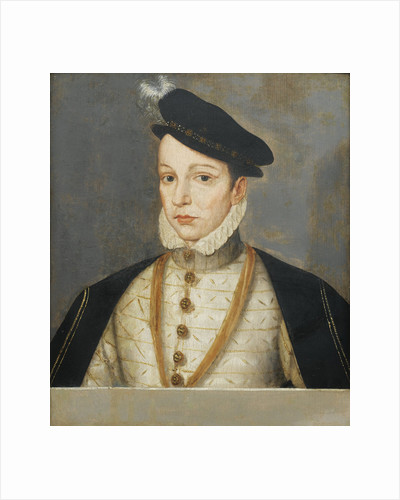 Portrait of King Charles IX of France, End of 16th century by François Clouet