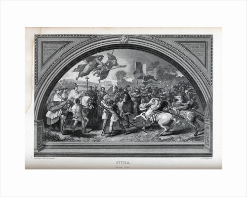 Attila (after Raphael), 1882 by Albert Henry Payne