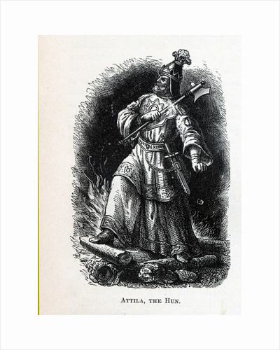 Attila the Hun, 1882 by Anonymous