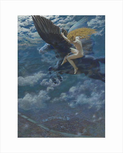 Dream Idyll (A Valkyrie), c. 1902 by Edward Robert Hughes