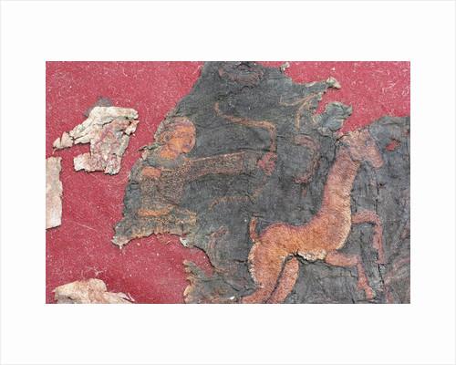 Carpet (detail), 1st H. 1st cen. AD by Hunnic Art