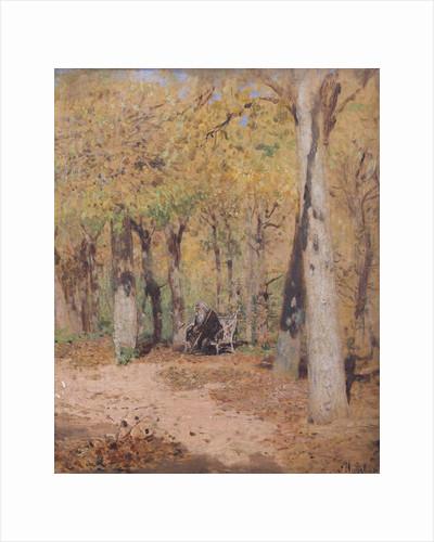 Autumn Musings, 1883 by Isaak Ilyich Levitan