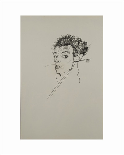 Self-portrait, 1913 by Egon Schiele