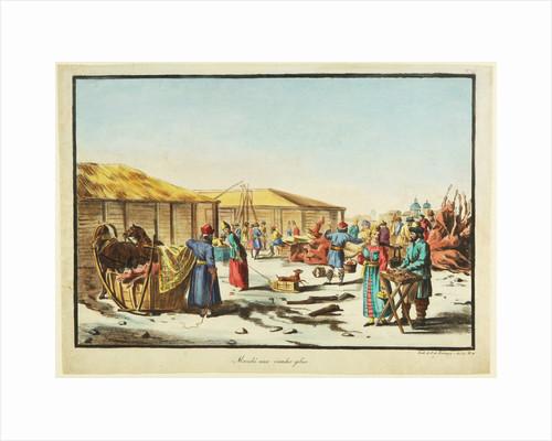 Frozen Meats Market, ca 1814 by Anonymous