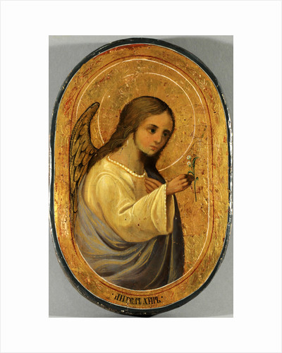 The Guardian Angel, Mid of the 19th century by Russian icon
