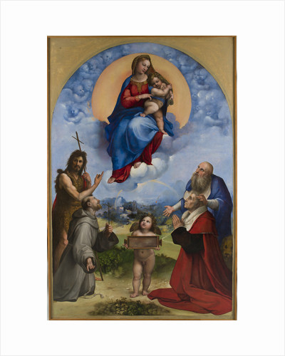 Madonna of Foligno, 1511-1512 by Anonymous