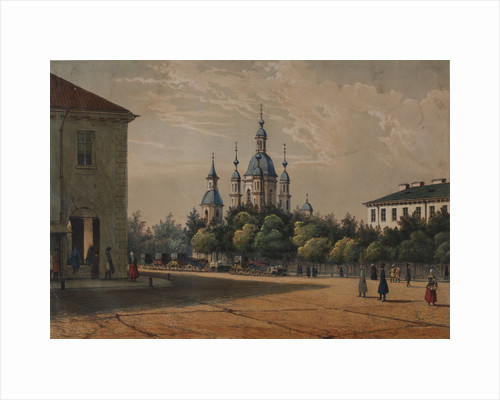 The Saint Andrews Cathedral in Saint Petersburg, c.1833 by Anonymous