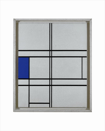 Composition in Blue and White, 1935 by Anonymous