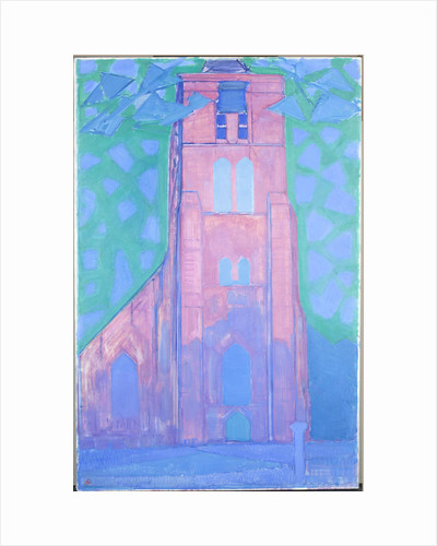 Zeeland Church Tower, 1911 by Anonymous