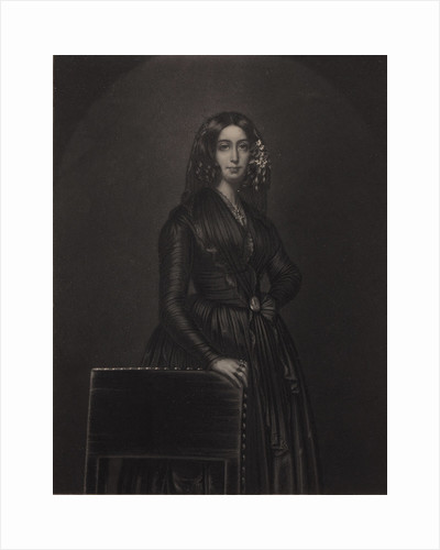 Portrait of the author George Sand, c. 1840 by Anonymous