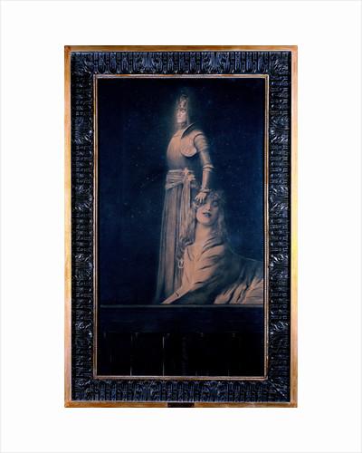 Avec Verhaeren: Un Ange (With Verhaeren: An Angel), 1889 by Anonymous