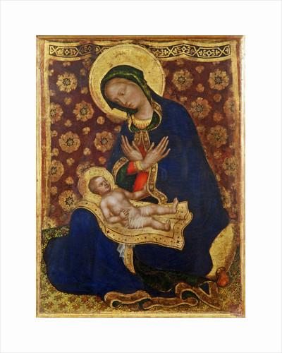 Madonna of Humility (Madonna dellUmiltà) by Anonymous