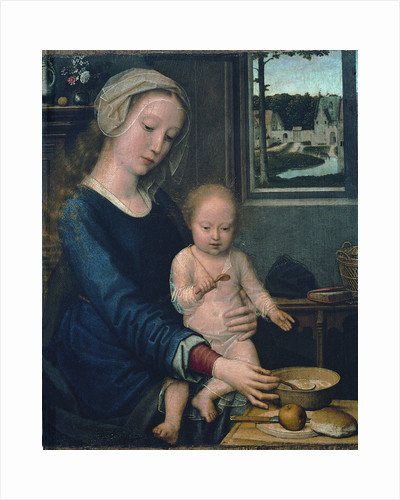 Madonna and Child with the Milk Soup (Madonna della Pappa) by Anonymous