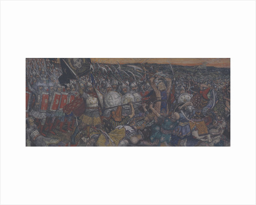 The Battle of Kulikovo on September 8, 1380 by Anonymous