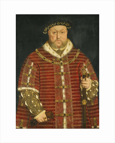 Portrait of King Henry VIII of England by Anonymous