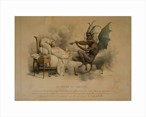 Tartinis Dream. Devils Trill Sonata by Anonymous