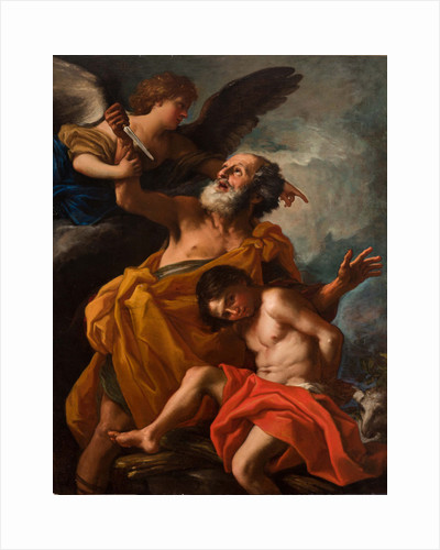Abraham Sacrificing Isaac by Anonymous