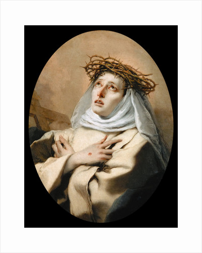 Saint Catherine of Siena by Anonymous