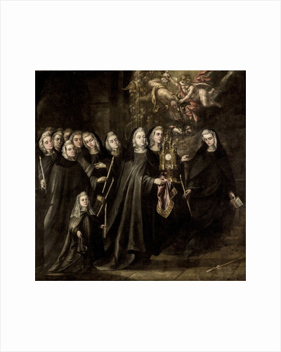 Saint Clare and sisters of her order by Anonymous