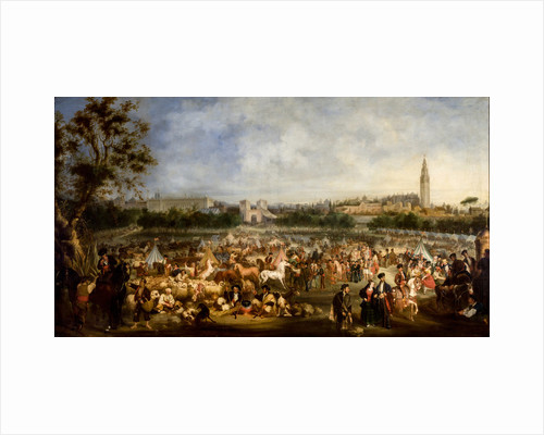 The Seville Fair by Anonymous
