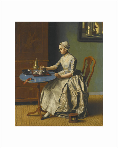 A Dutch Girl At Breakfast by Anonymous