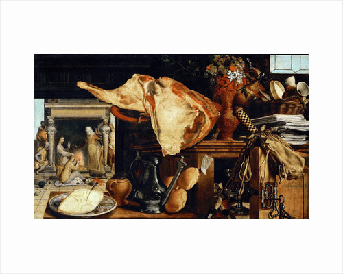 Vanity Still Life (Christ in the House of Martha and Mary) by Anonymous