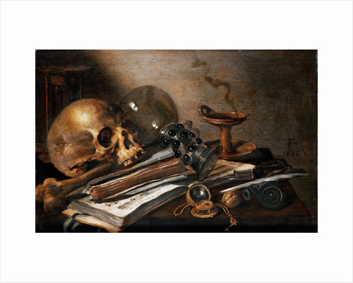Vanity Still Life by Anonymous