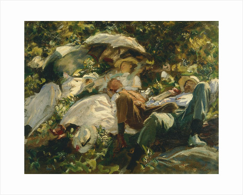 Group with Parasols, 1904-1905 by Anonymous