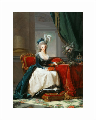 Portrait of Queen Marie Antoinette of France, ca 1788 by Anonymous