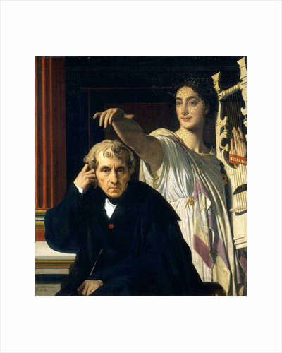 Luigi Cherubini and the Muse of Lyric Poetry, 1842 by Anonymous