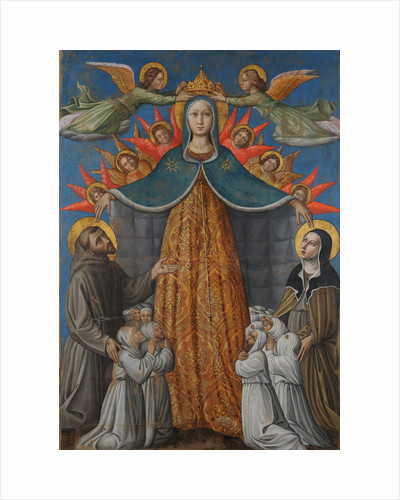 Madonna della Misericordia (Madonna of Mercy), 1462 by Anonymous