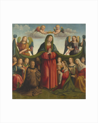 Madonna della Misericordia (Madonna of Mercy), 1510-1515 by Anonymous