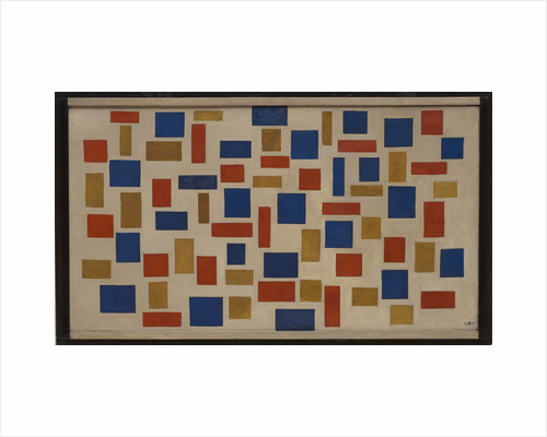 Composition XI (Kompositie XI), 1918 by Anonymous