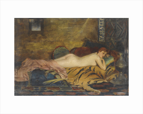 Reclining Nude by Anonymous
