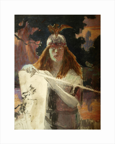 Brunhilde, 1894 by Anonymous