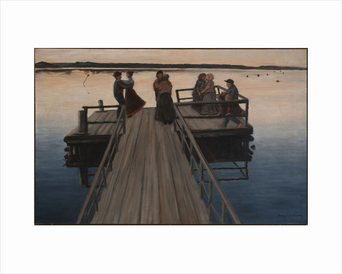 Dance on the landing stage, Symbolism by Anonymous