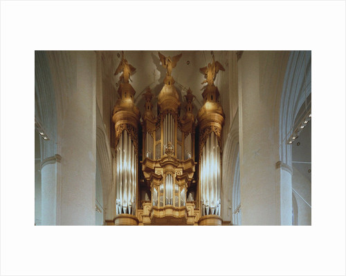 The Organ in the St. Catherines Church in Hamburg by Anonymous